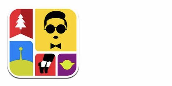 icon pop quiz game lokal dengan desain minimalis yang membuat psy naksir